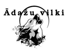 Meeskonna logo Ādažu vilki