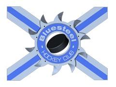Komandos logotipas Lausanne Bluesteel HC