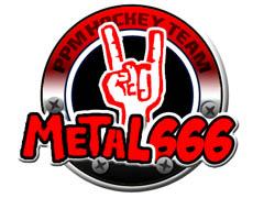 Komandos logotipas Metal666