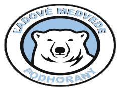 Ekipni logotip ĽADOVÉ MEDVEDE PODHORANY
