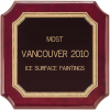Most ice surface paintings: Vancouver 2010