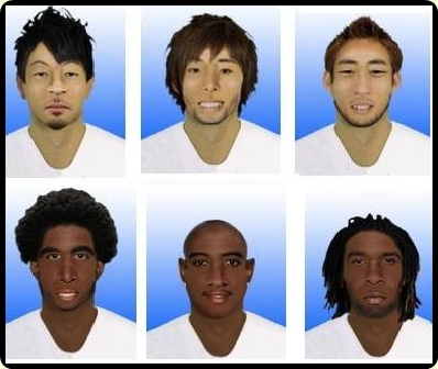 Player faces