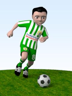 Soccer mascot