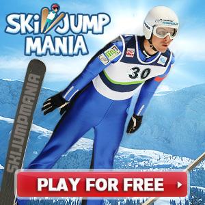 Ski Jump Mania - Besplatna online igra skijaških skokova
