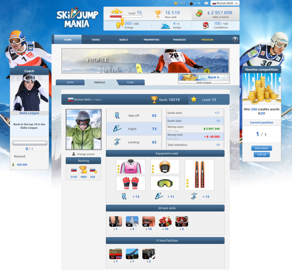 Ski Jumping Games Online