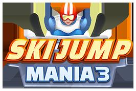Free online ski jumping game - Ski Jump Mania 3