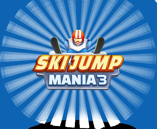 Ski Jump Mania 3: Free online ski jumping game